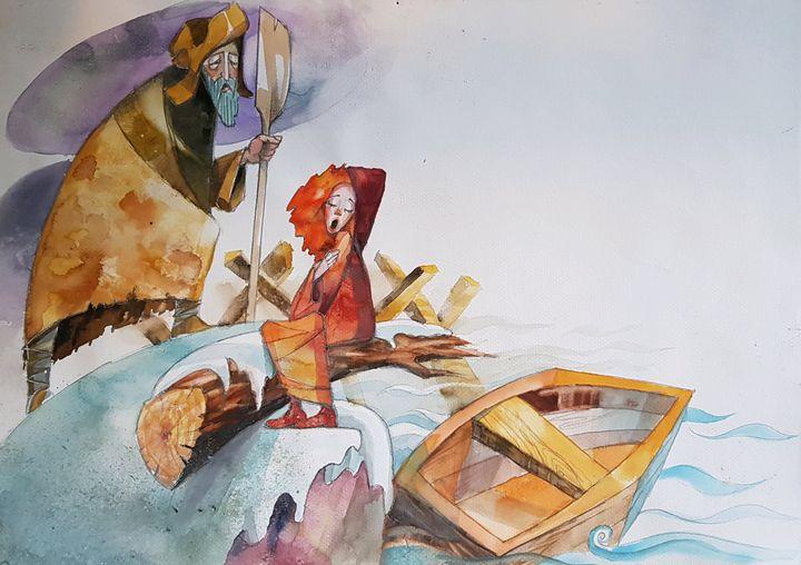 Girl adventure - Krawczak Art