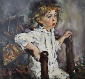 """V.Serov - """"Mika Morozov"""" copy"""