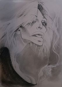 Courtney Love Caricature