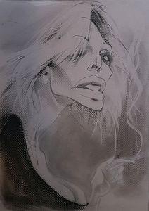 Courtney Love Caricature