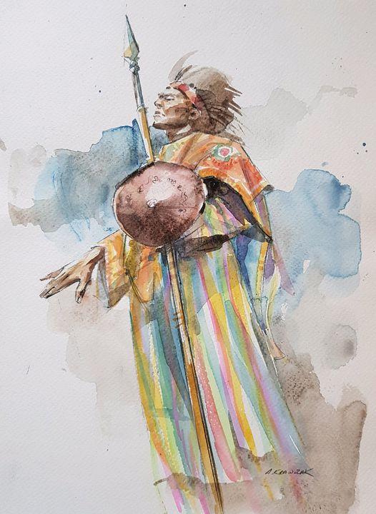 Warrior - Krawczak Art