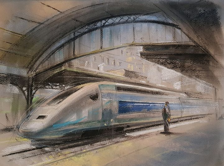 Train station - Krawczak Art