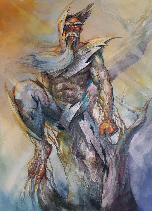 Superhero - Krawczak Art