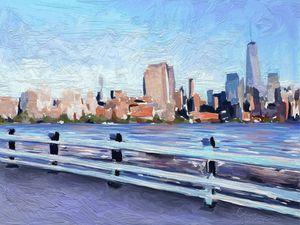 Summer on the Hudson River