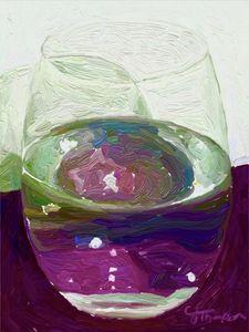 Glass Half Colorful