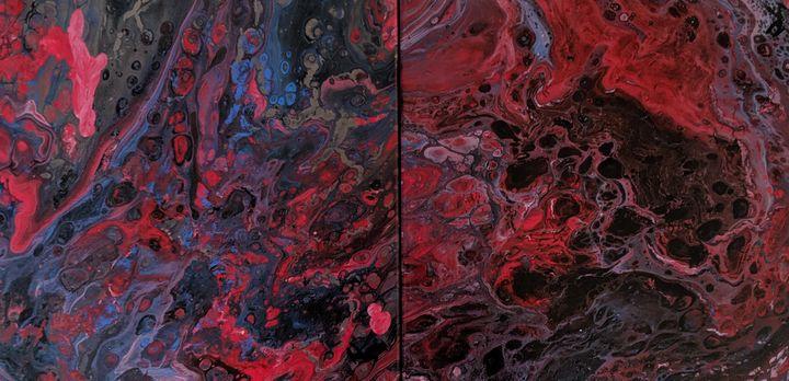 Flow of Lava - Jack Keane Art