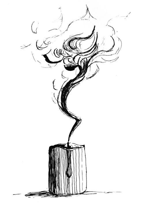Candle Smoke - Amanda Reid