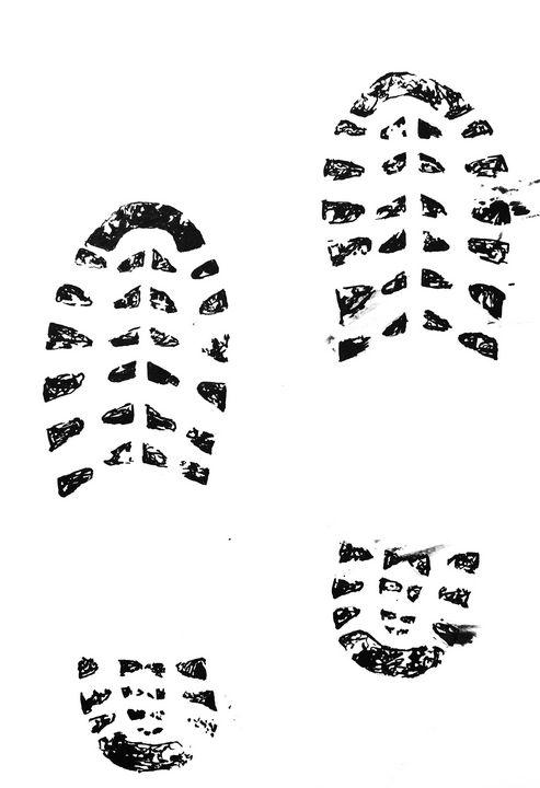 Shoeprint - Amanda Reid