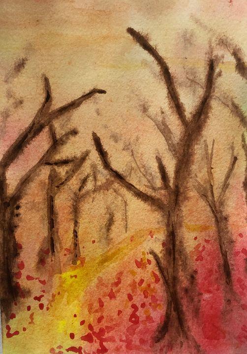 Red Leaves - Amanda Reid