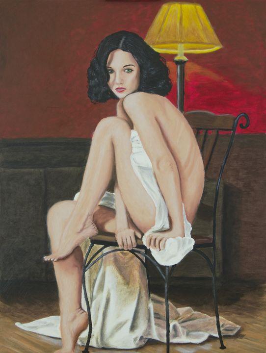 Lady in White - John S. Mann