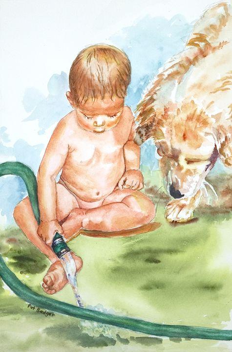 Water Buddies - Pat Badger