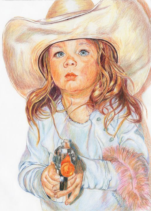 Cowgirl - Pat Badger