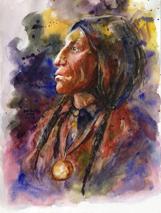 Native American - Pat Badger