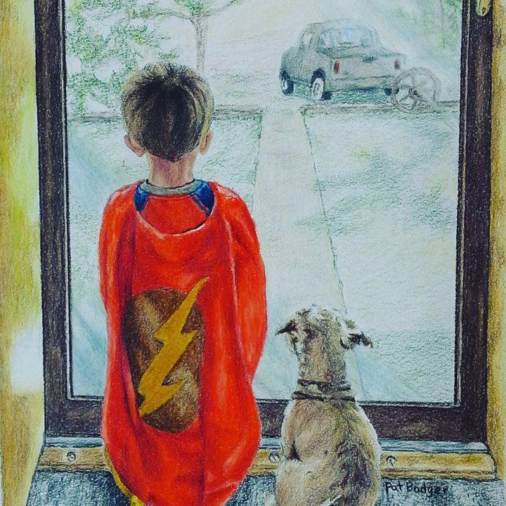 Dreaming of super heroes - Pat Badger