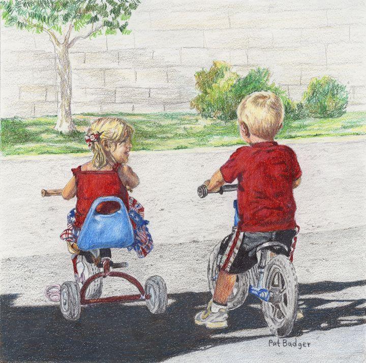 Tricycle Buddies - Pat Badger
