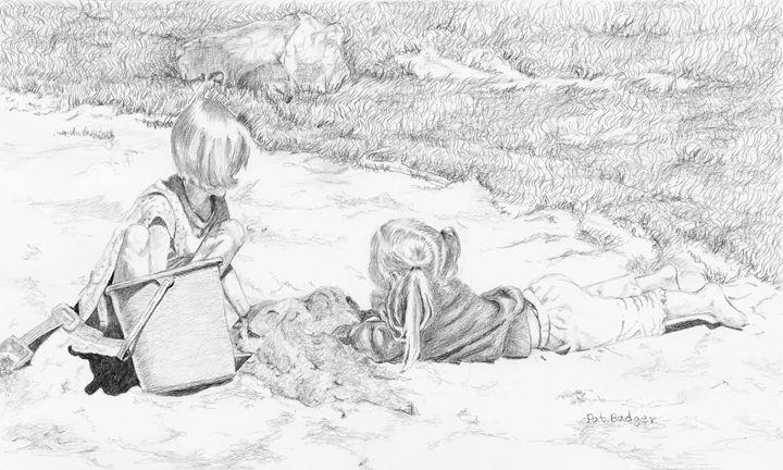 Sand Box Fun - Pat Badger