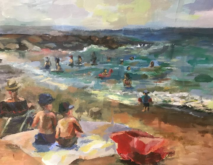 Mandelieu-la-Napoule Beach - Claudia Kim