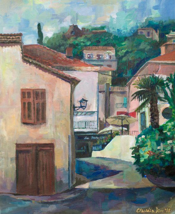 Mandelieu-la-Napoule Village - Claudia Kim