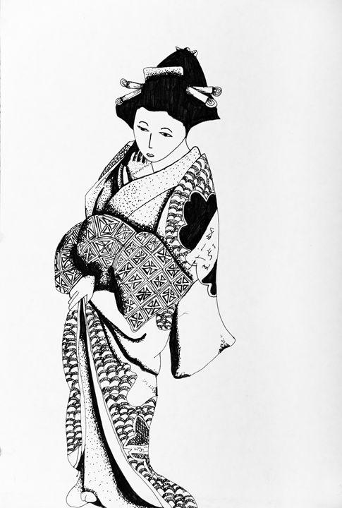 Kimono - Summer Clinkscale