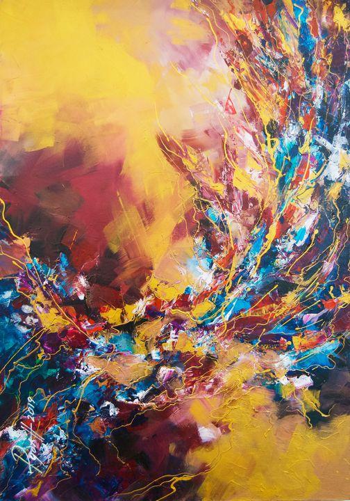 Holiday in yellow - Stanislav Ruban