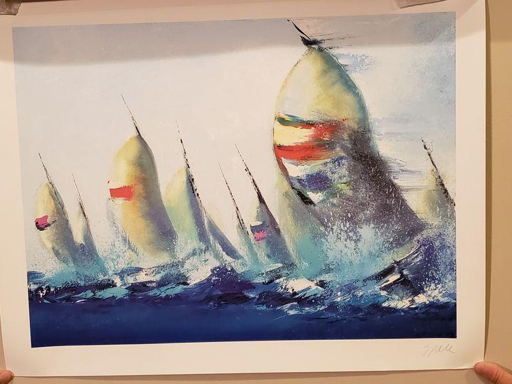 July Sails - Jenny D