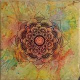 Original Handmade Mandala Painting