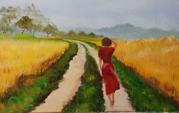 walking home - Douglas Harn