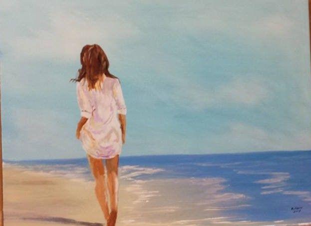 beach strole - Douglas Harn