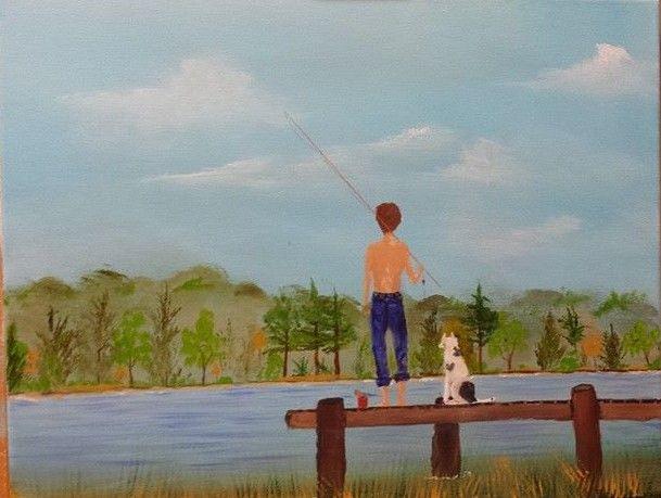 ready to wet a hook - Douglas Harn