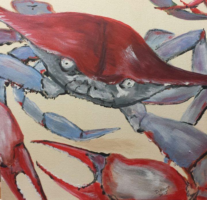 angry crab - Douglas Harn