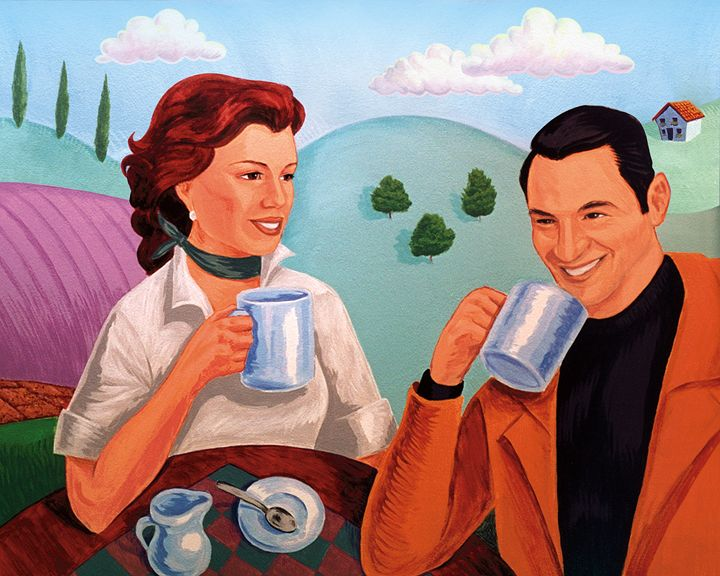 Coffee Couple - Christopher Panza