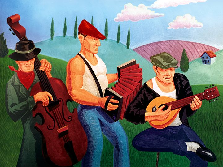 The 3 Musicians - Christopher Panza