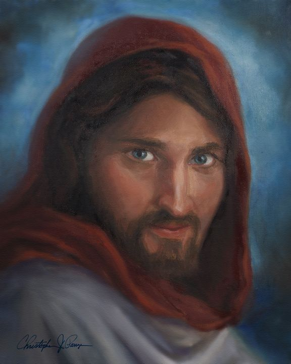 Portrait of Jesus - Christopher Panza