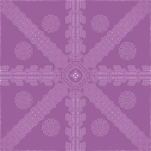 Magenta Ink Snowflake