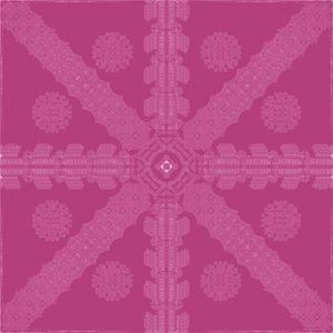 Pink Ink Snowflake