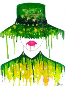 I love my hat - PauNooNoo Art