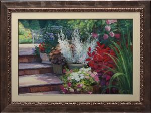 """""""Morning in the Garden"""""""