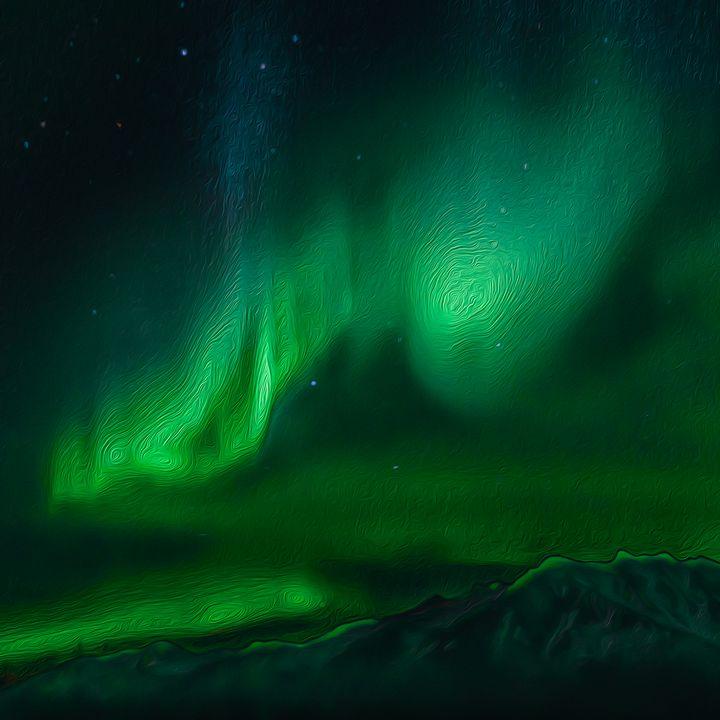 Northern Lights - MJB DigiArt