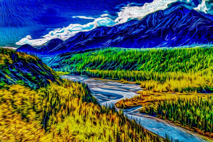 The Alaskan Frontier - MJB DigiArt
