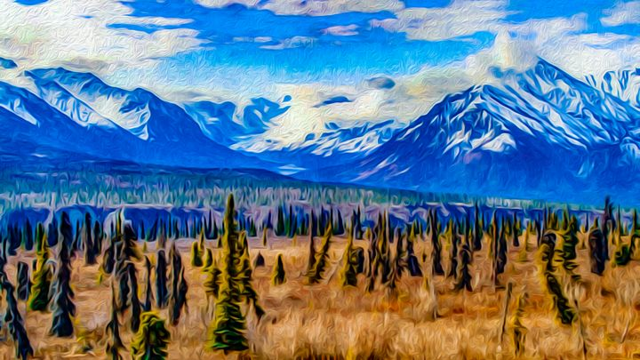 Impressive Alaskan Landscape - MJB DigiArt