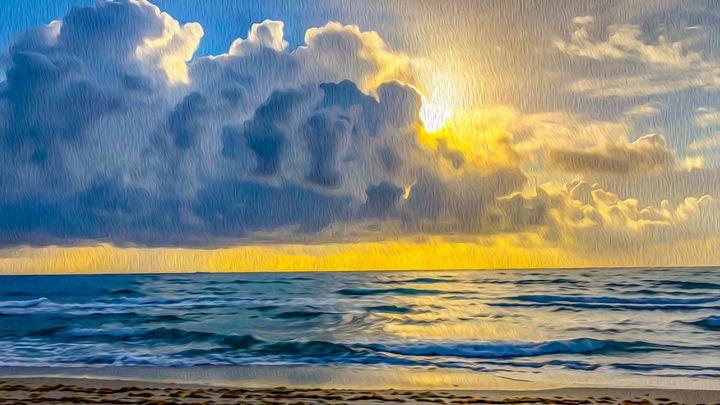 Florida Sunrise - MJB DigiArt