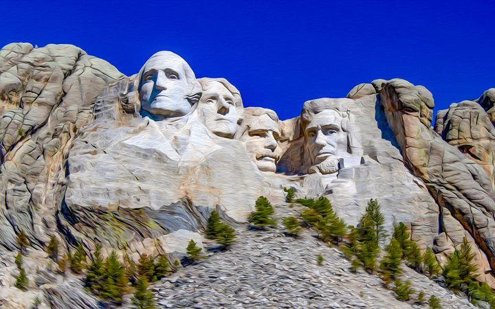Mount Rushmore - MJB DigiArt