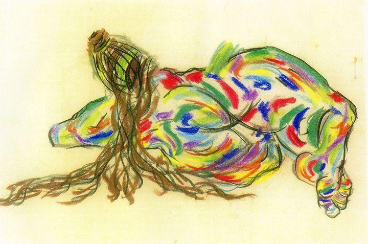Reclining nude - Art by Impulse
