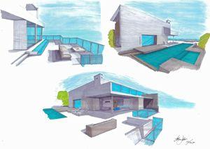 Minimalist House - Arbie Galerie