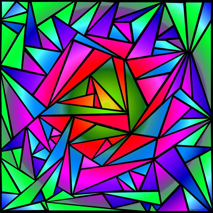 Shattered Rainbow II - The Art of Blaise Gauba