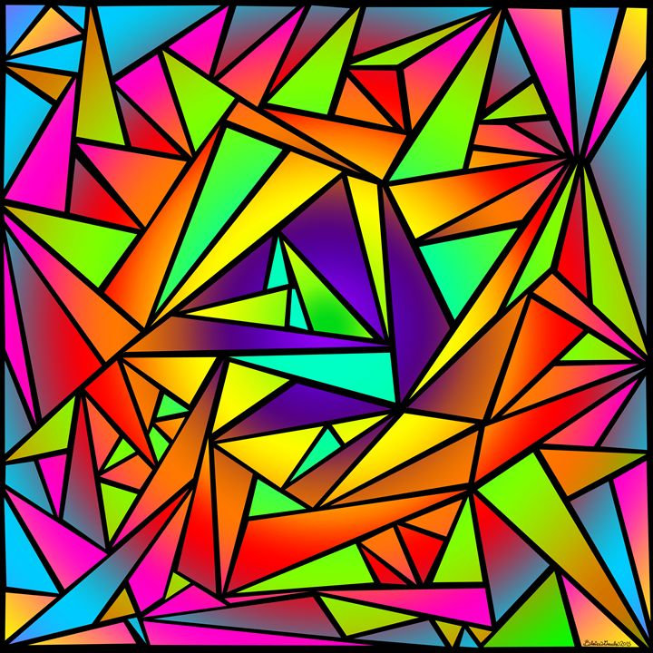 Shattered Rainbow III - The Art of Blaise Gauba