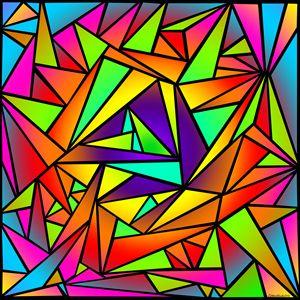 Shattered Rainbow III
