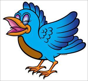 Little Bird Blue - The Art of Blaise Gauba