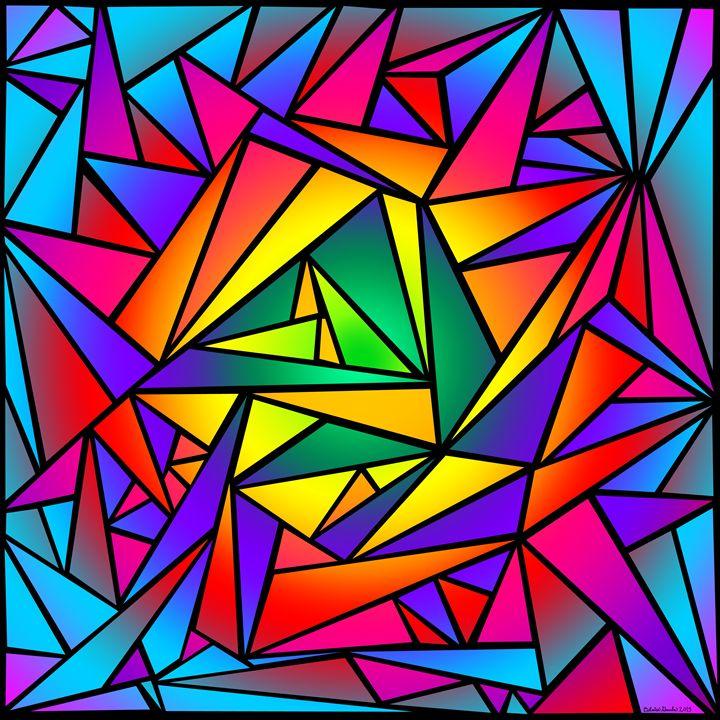 Shattered Rainbow - The Art of Blaise Gauba