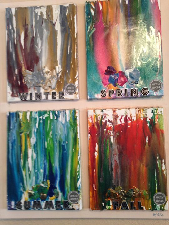 The Four Seasons - MYSTIC WOODS by Gayle